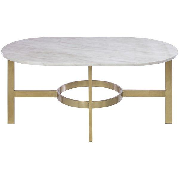 Olivia Marble Topped Coffee Table Neiman Marcus