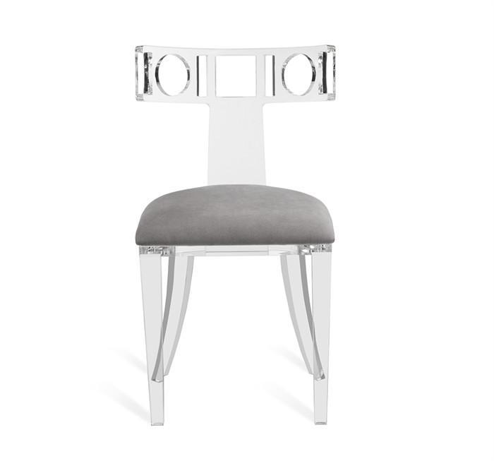 Antonio Curved Acrylic Chair
