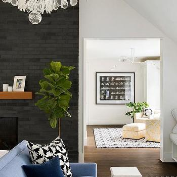 Brown Fireplace Mantel - Design photos