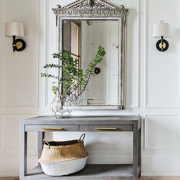 Modern French Style Foyer Design Ideas