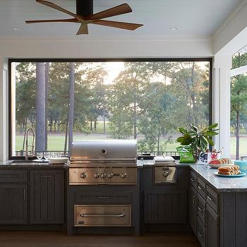 Sunroom Kitchen Fan Design Ideas