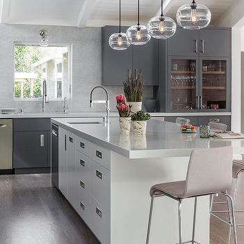 Square Kitchen Skylight Design Ideas
