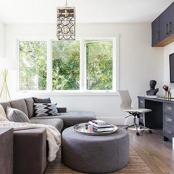 paint colors that go good with gray furniture. gray sofa with round ottoman paint colors that go good furniture