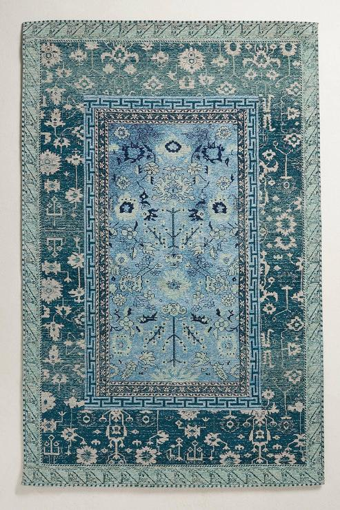 Mila Grey And Blue Persian Rug