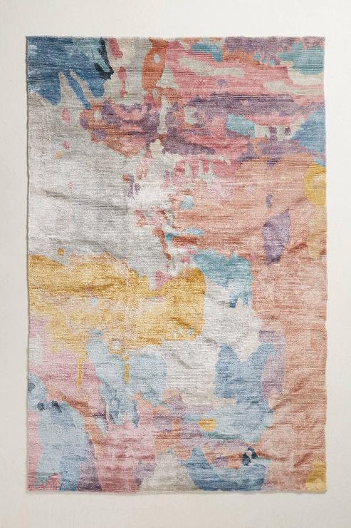 Ashik Multicolor Wool Rug