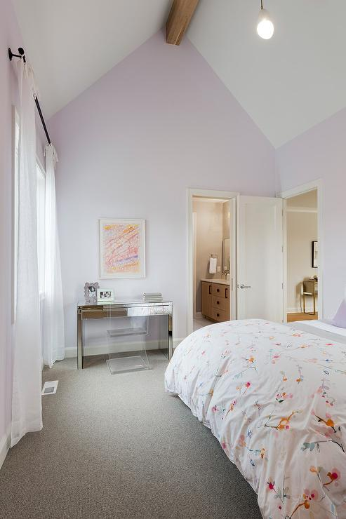 Round Chair Contemporary Girl S Room Benjamin Moore
