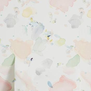 Watercolors Pastel Drips Wallpaper