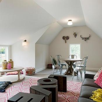 love shaped accent tables