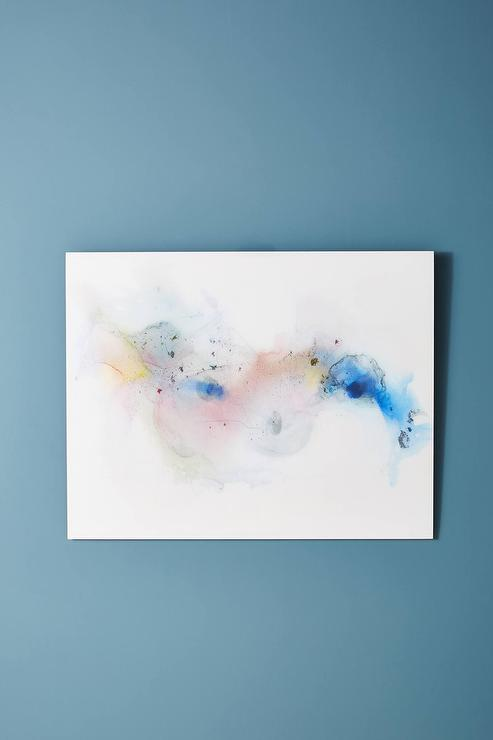 9d46765b1bf74 One Legged Dancer Abstract Watercolor Wall Art