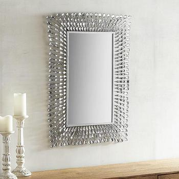 Modern Crystal Framed Mirror - Products, bookmarks, design ...