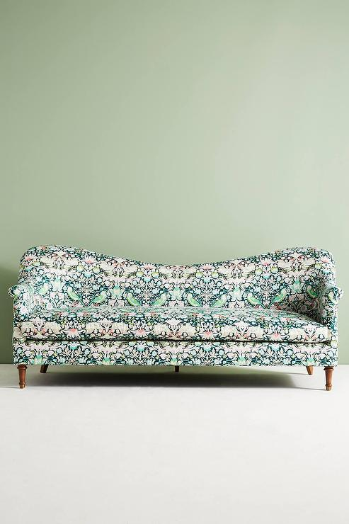 Vintage Base Mint Green Kensington Sofa