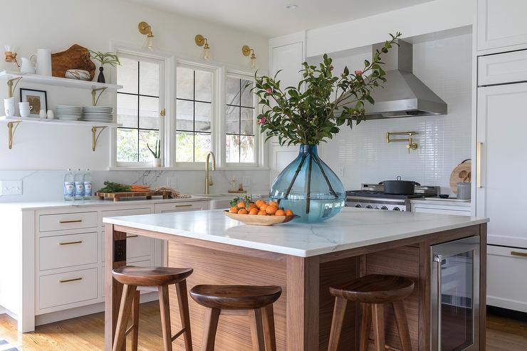 Brass Kitchen Wall Decor : Brass swing arm kitchen wall sconces design ideas