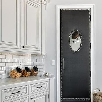 Antique White Pantry Cabinets Design Ideas