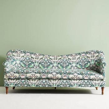 ivory pixelated flora circle sofa. Black Bedroom Furniture Sets. Home Design Ideas