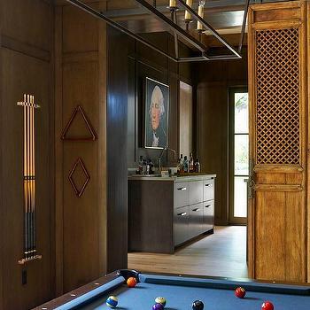 Pool table chandeliers design ideas wood paneled pool room aloadofball Gallery