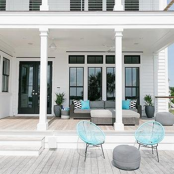 'Turquoise Blue Outdoor Pod Chairs' from the web at 'https://cdn.decorpad.com/photos/2017/10/30/m_turquoise-blue-outdoor-chairs.jpg'