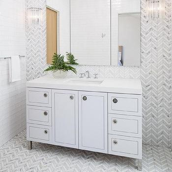 Chrome Bath Vanity Legs Design Ideas