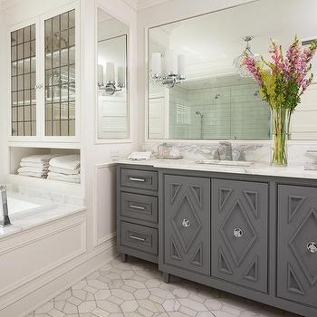 Enjoyable Leaded Glass Bathroom Cabinet Doors Design Ideas Home Interior And Landscaping Transignezvosmurscom
