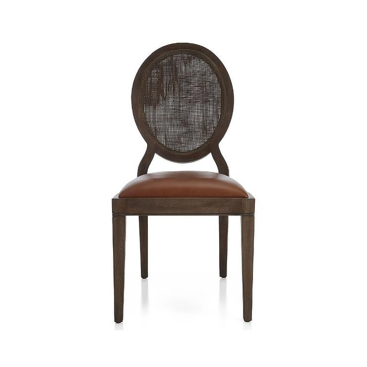 Oval back dining chair west elm for White oval back dining chair