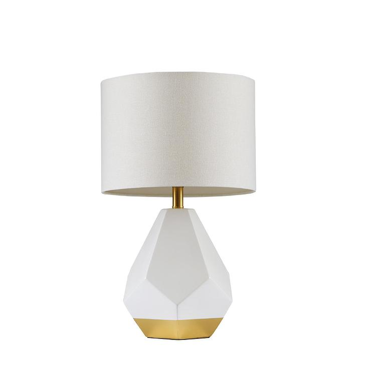Gold Geo Globe Accent Lamp Base