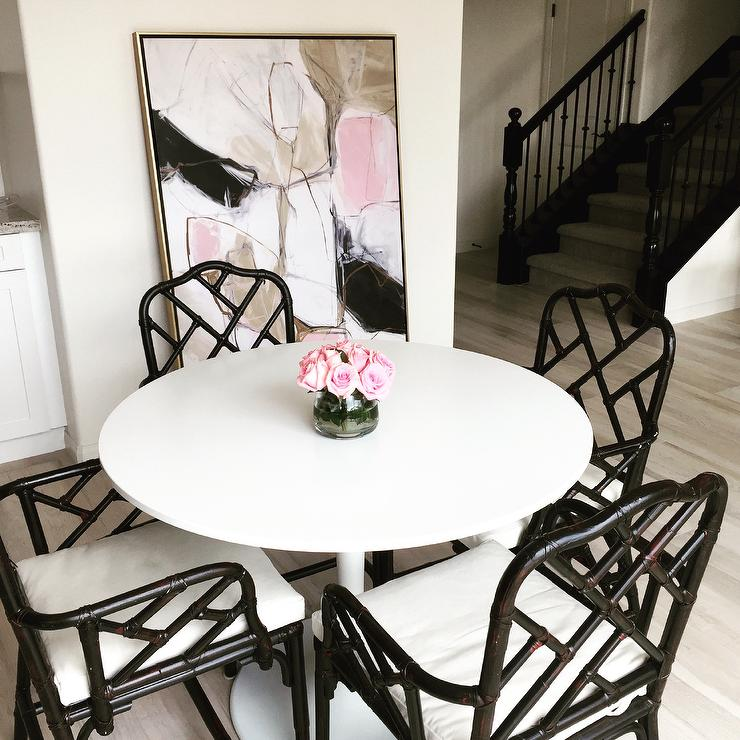 Stupendous White Pink And Black Room Accent Colors Home Interior And Landscaping Ologienasavecom