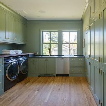 Laundry Room Granite Countertops Design Ideas