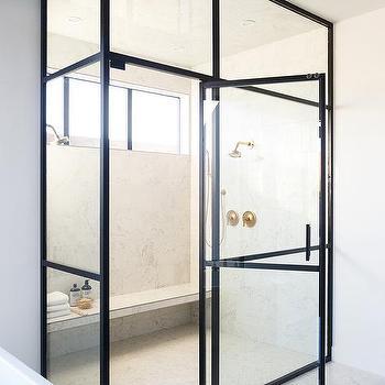 Marble Slab Shower Bench Design Ideas