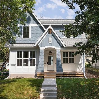 White Panel Home Exterior Design Ideas