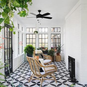 Magnificent Black And White Sunroom Design Design Ideas Caraccident5 Cool Chair Designs And Ideas Caraccident5Info