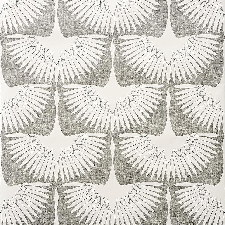 Genevieve Gorder Feather Flock Removable Wallpaper