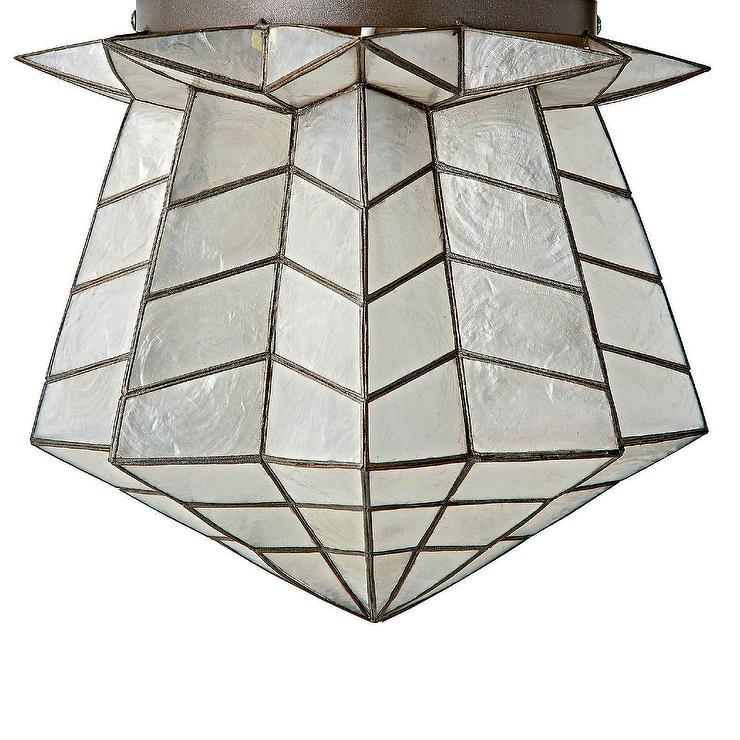 Gorder capiz star ceiling light genevieve gorder capiz star ceiling light mozeypictures Image collections