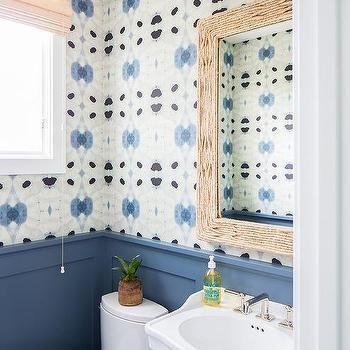 Powder Room Wainscoting Cottage Bathroom Vanessa