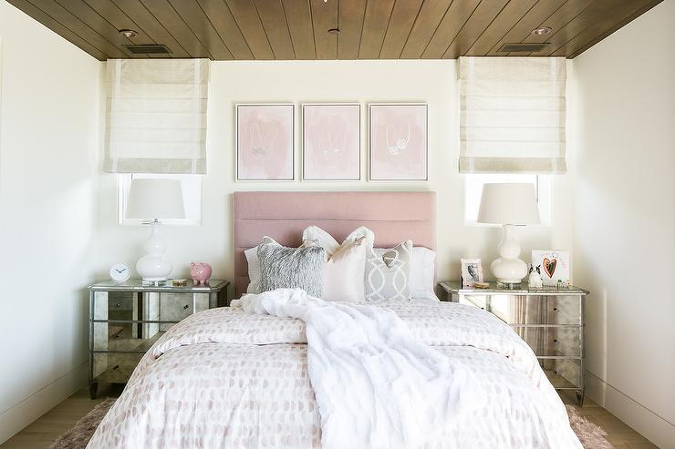 Pink Paint Colors For Girl Room Transitional Girl S