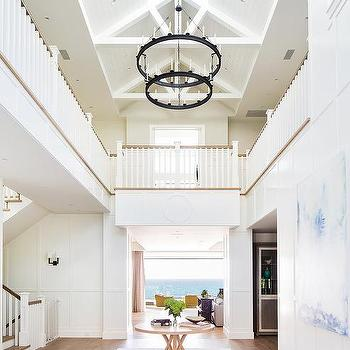 Long Foyer Skylight Design Ideas