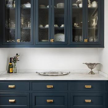 Royal Blue Kitchen Cabinets Design Ideas