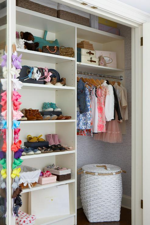 Modular Nursery Closet Shelving