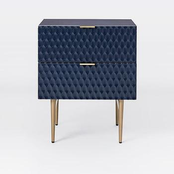 Bungalow 5 Jacqui Navy 4 Drawer Chest