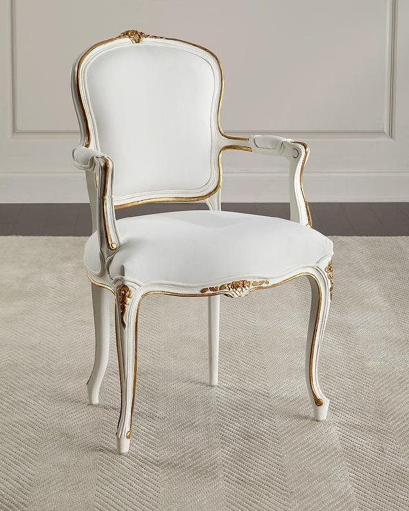 Stupendous Adelise White Gold Floral Accent Chair Unemploymentrelief Wooden Chair Designs For Living Room Unemploymentrelieforg