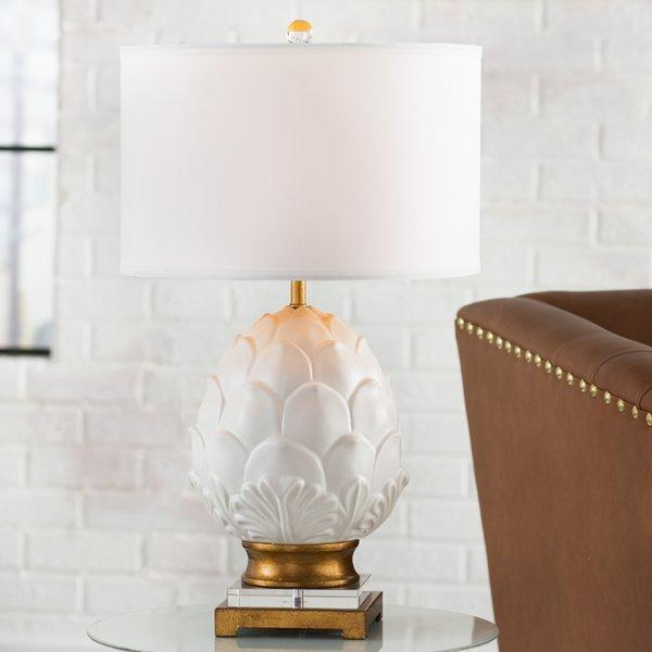 Wayfair Table Lamps >> Lotus Flower Table Lamp Base - Pottery Barn