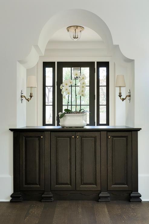 Foyer Cabinet Knobs : Foyer nook transitional entrance giannetti home