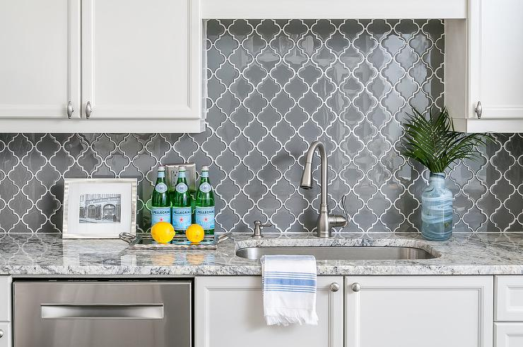 Grout Free Kitchen Backsplash