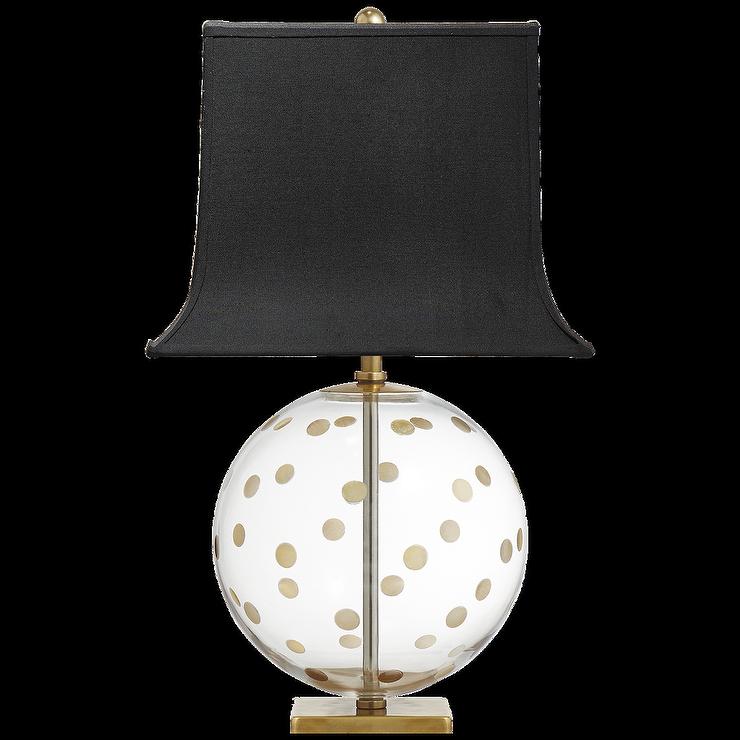 Westwood Gold Chevron Glass Table Lamp I Amazon