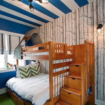 Lily Z Design · Tent Over Top Bunk Bed