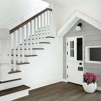 Playhouse Next To Staircase