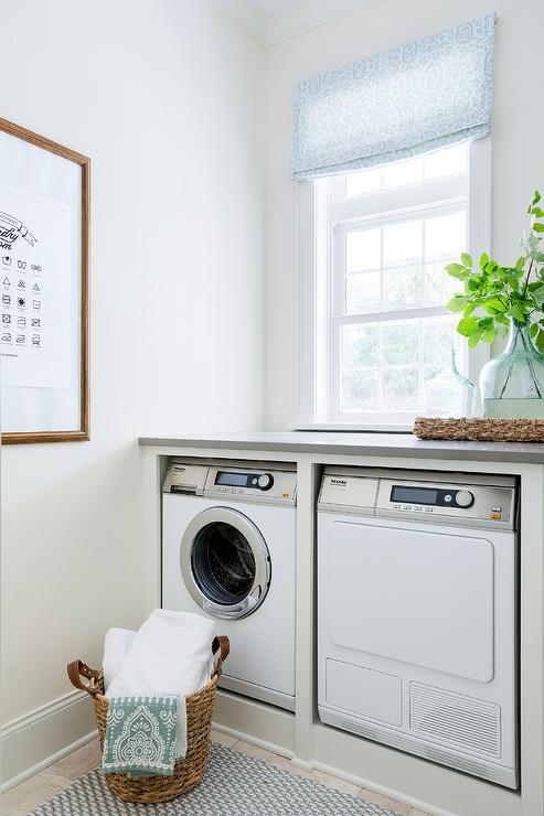 Enclosed Washer And Dryer Design Ideas