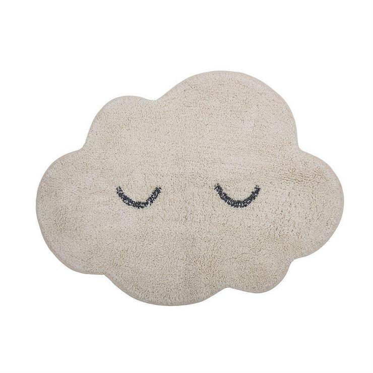 Bp Mini White Cotton Sleeping Cloud Rug