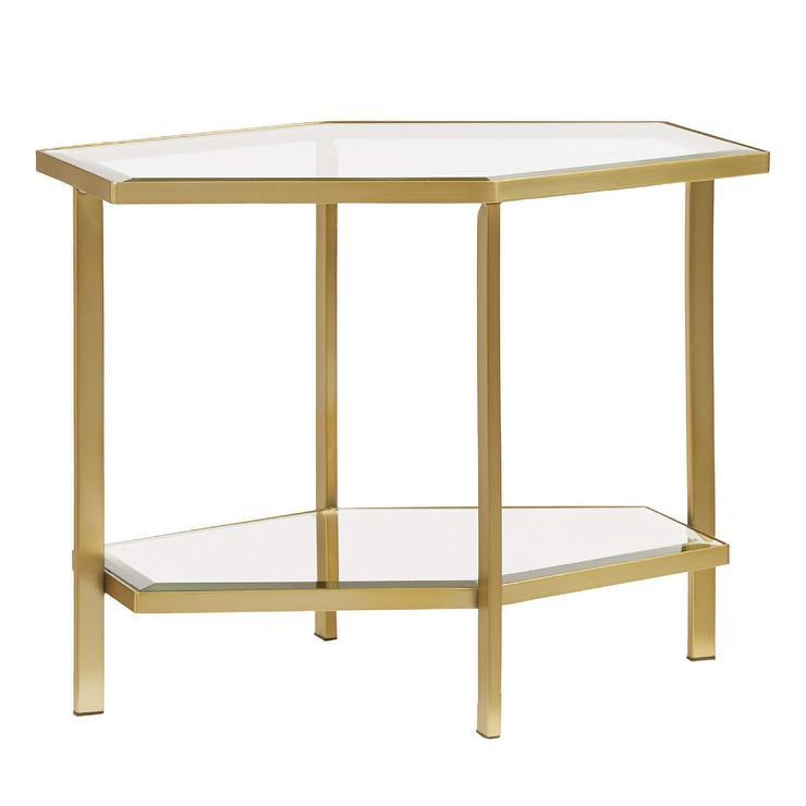 Brooke Hexagonal Coffee Table