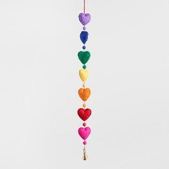 Multicolor Prism Table Decor