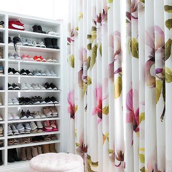 Built In Shoe Shelves Design Ideas
