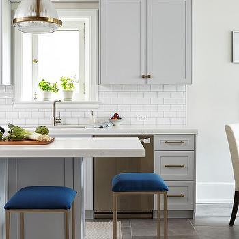Magnificent Sapphire Blue Kitchen Island Stools Design Ideas Gmtry Best Dining Table And Chair Ideas Images Gmtryco